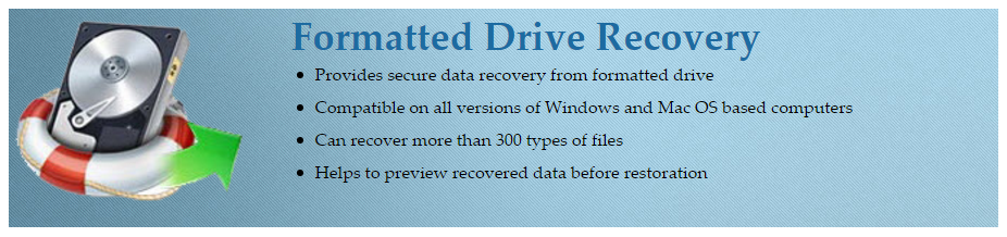 Recover Formatted Drive