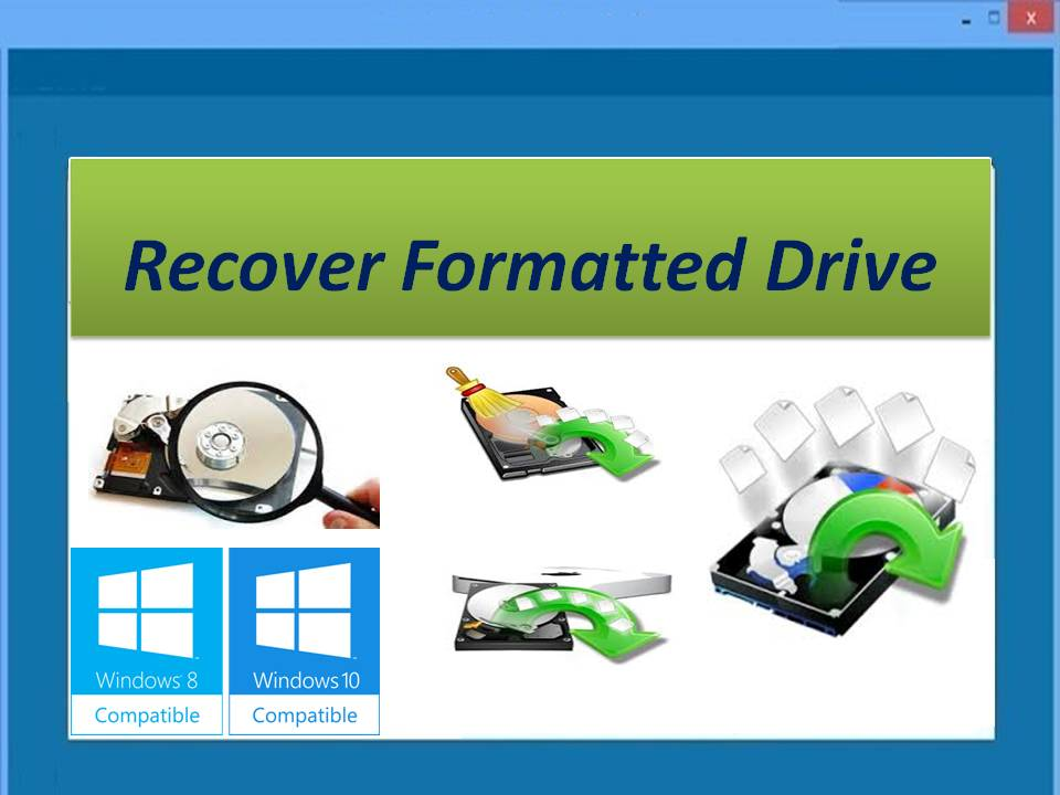 Restore hard drive that has been formatted